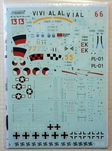 XTRADECAL 1/72 72269 MESSERSCHMITT Me 262 A1a/U3/A2a   S-92