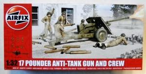 AIRFIX 1/32 06361 17 POUNDER ANTI-TANK GUN   CREW
