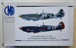 CZECH MASTER RESIN 1/72 168 SUPERMARINE SPITFIRE LF Mk.IXE