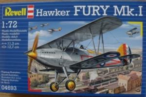 REVELL 1/72 04693 HAWKER FURY Mk.I