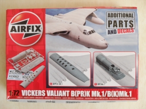 AIRFIX 1/72 65000 VICKERS VALIANT B PR K Mk.1/B K Mk.1 ADDITIONAL DECAL   PARTS