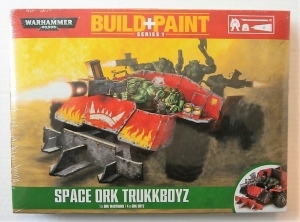WARHAMMER 40000  SPACE ORK TRUKKBOYZ BUILD   PAINT