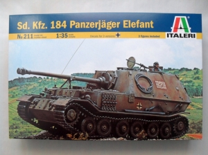 ITALERI 1/35 211 Sd.Kfz 184 PANZERJAGER ELEFANT