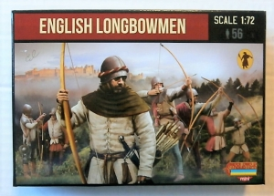 STRELETS 1/72 M117 ENGLISH LONGBOWMEN