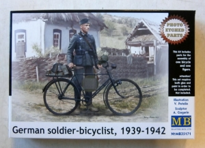 MASTERBOX 1/35 35171 GERMAN SOLDIER BICYCLIST 1939-42