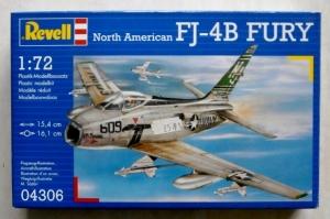 REVELL 1/72 04306 NORTH AMERICAN FJ-4B FURY