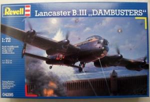 REVELL 1/72 04295 LANCASTER B.III DAMBUSTERS