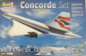 REVELL 1/144 05757 CONCORDE SET 1969-2003