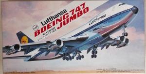 HASEGAWA 1/200 LD4 BOEING 747 LUFTHANSA