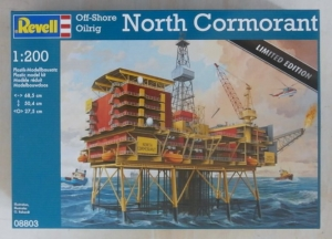 REVELL 1/200 08803 OFFSHORE OILRIG NORTH CORMORANT UK SALE ONLY