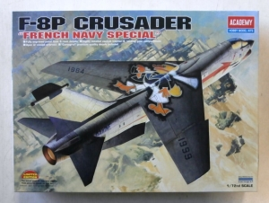 ACADEMY 1/72 12407 F-8P CRUSADER FRENCH NAVY SPECIAL