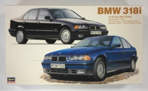HASEGAWA 1/24 CD-16 BMW 318i