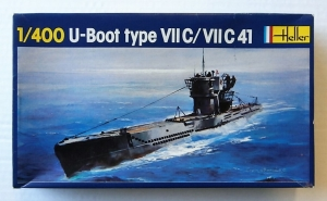HELLER 1/400 1072 U-BOOT TYPE VII C / VII C 41