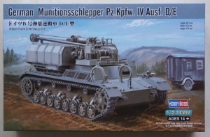 HOBBYBOSS 1/72 82907 GERMAN MUNITIONSSCHLEPPER Pz.Kpfw.IV Ausf. D/E