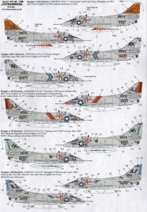XTRADECAL 1/72 72180 DOUGLAS A-4B SKYHAWKS