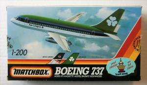 MATCHBOX 1/200 40803 BOEING 737 BA AER LINGUS