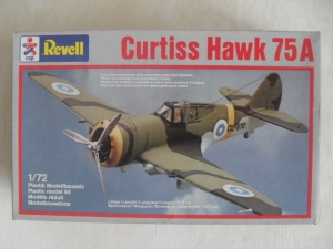 REVELL 1/72 4145 CURTISS HAWK 75A