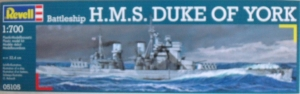 REVELL 1/700 05105 HMS DUKE OF YORK