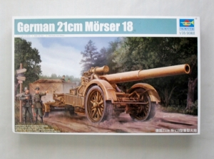 TRUMPETER 1/35 02314 GERMAN 21cm MORSER 18