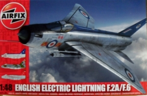 AIRFIX 1/48 09178 ENGLISH ELECTRIC LIGHTNING F.2A/F.6