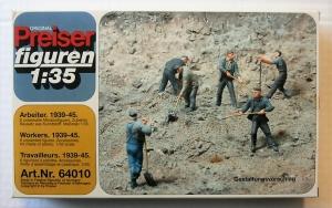 PREISER 1/35 64010 WORKERS 1939-45