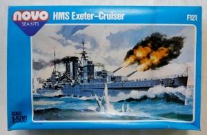 NOVO 1/500 F121 HMS EXETER