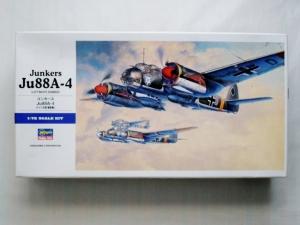 HASEGAWA 1/72 E25 JUNKERS Ju 88A-4