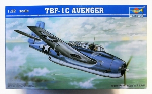 TRUMPETER 1/32 02233 TBF-1C AVENGER  UK SALE ONLY