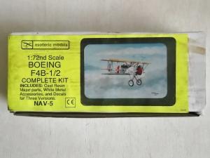ESOTERIC 1/72 NAV-5 BOEING F4B-1/2