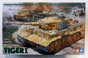 TAMIYA 1/35 25401 TIGER I LATE VERSION w/ACE COMMANDER   CREW SET