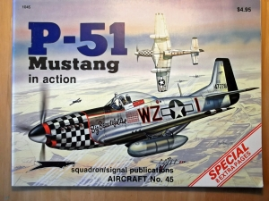 SQUADRON/SIGNAL AIRCRAFT IN ACTION  1045. P-51 MUSTANG
