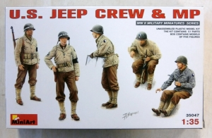 MINIART 1/35 35047 U.S. JEEP CREW   MP