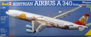 REVELL 1/144 04209 AIRBUS A340 WIENER PHILHARMONIKER