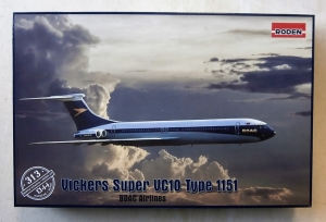 RODEN 1/144 313 VICKERS SUPER VC10 TYPE 1151 BOAC AIRLINES