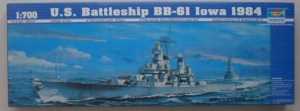 TRUMPETER 1/700 05701 USS IOWA BB-61 1984