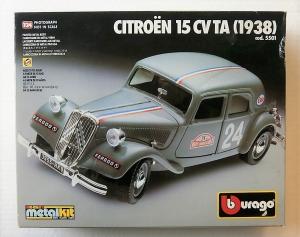BURAGO 1/24 5501 CITROEN 15 CVTA  1938