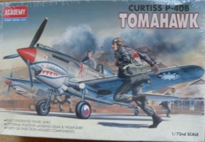 1/72 1655 CURTISS P-40B TOMAHAWK