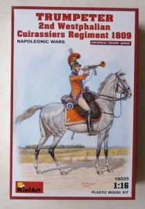 MINIART 1/16 16035 TRUMPETER 2nd WESTPHALIAN CUIRASSIERS REGIMENT 1809