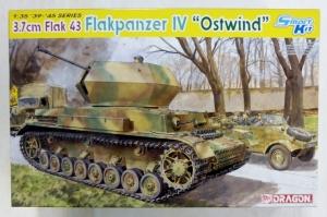 DRAGON 1/35 6550 3.7cm FLAK 43 FLAKPANZER IV OSTWIND