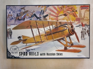 RODEN 1/32 617 SPAD VIIc.1 WITH RUSSIAN SKIES