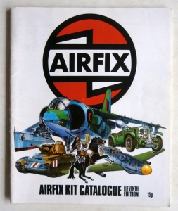 AIRFIX  11th Edition  RIP TO FRONT COVER