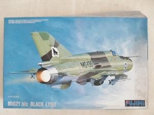 FUJIMI 1/72 H-21 MiG-21 bis BLACK LYNX
