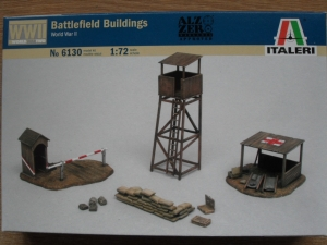 ITALERI 1/72 6130 WWII BATTLEFIELD BUILDINGS