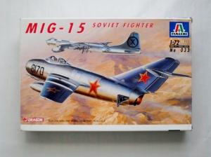 ITALERI 1/72 033 MiG-15