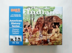 IMEX 1/72 522 EASTERN FRIENDLY INDIANS