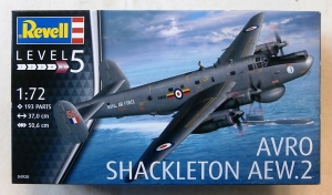 REVELL 1/72 04920 AVRO SHACKLETON AEW.2