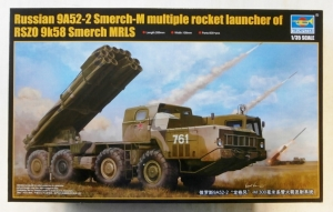 TRUMPETER 1/35 01020 RUSSIAN 9A52-2 SMERCH-M MULTIPLE ROCKET LAUNCHER  UK SALE ONLY
