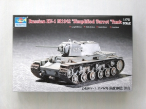 TRUMPETER 1/72 07234 KV-1 M1942 SIMPLIFIED TURRET