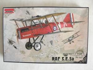 RODEN 1/32 607 RAF S.E.5a