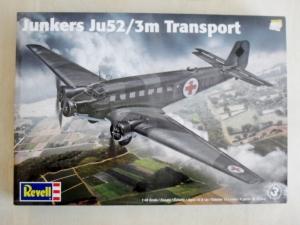 REVELL 1/48 85-5624 JUNKERS Ju 52/3M TRANSPORT
